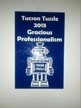 Tucson Tussle award